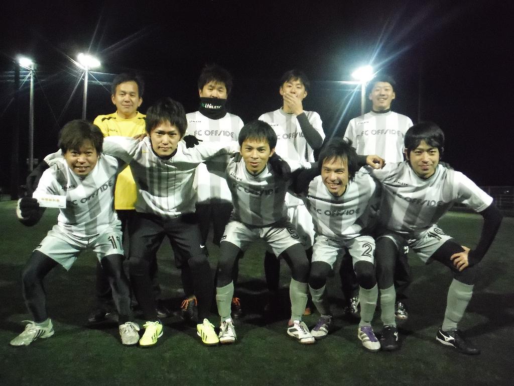 準優勝 FC オフサイド