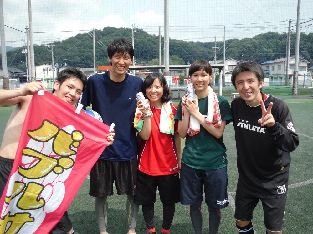 個人参加チームの写真