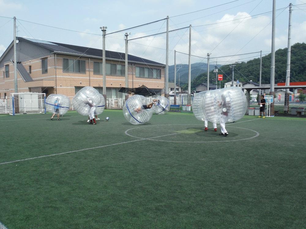 試合の写真