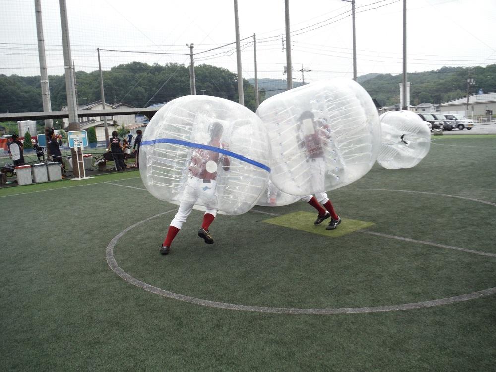 バブル相撲の写真